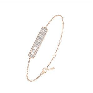 Messika My First Diamond Pave Rose Gold Bracelet