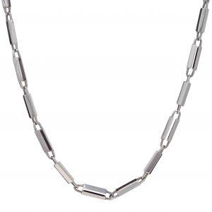 Baraka Nexus Chain in White Gold with Diamond